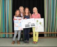 De winnaars van de Airborne tekenwedstrijd 2013