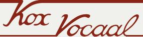 Impresariaat Kox Vocaal